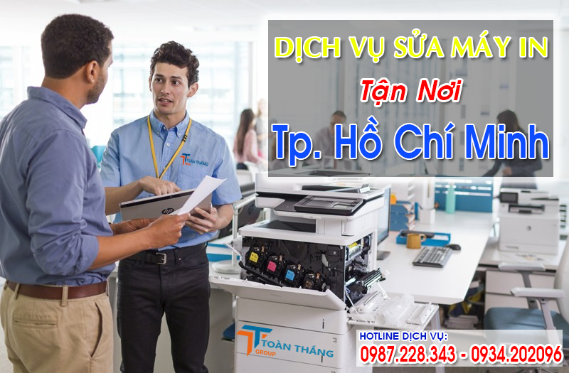 Công Ty Dịch Vụ Sửa Máy In Quận Gò Vấp Nhanh Giá Rẻ