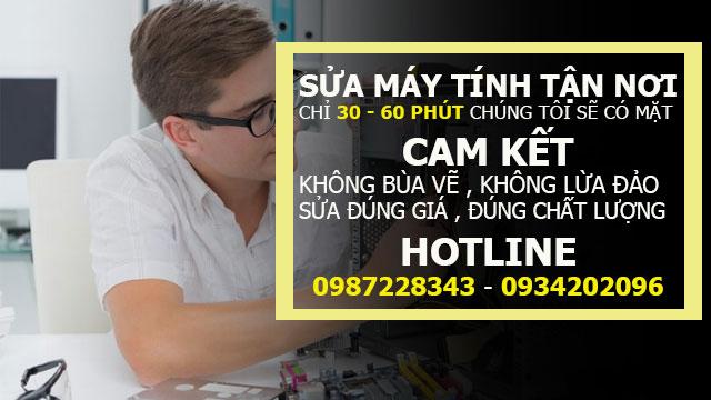 Dịch Vụ Sửa Máy Tính Tại Quận Tân Phú Tận Nơi Nhanh Giá Rẻ